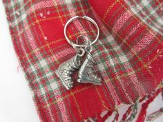 Ski Boots Keychain by jimclift on Etsy