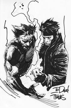 Wolverine  Gambit | Travis Charest