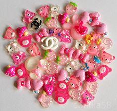 decoden kawaii cabochons 50 pcs mix princess by danika58 on Etsy, $10.45