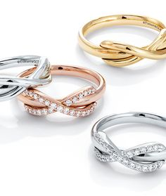 Ring in a new year of limitless possibilities with designs from the Tiffany Infinity collection.