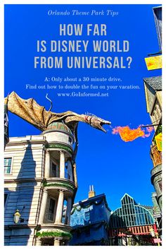 Find out how to plan a visit to Universal Orlando on your Disney World  vacation. Tips for where to stay, how to get there, and when to schedule  Universal into your trip. Disney World Gifts, Disney World Vacation, Walt Disney World, Universal Orlando, Universal Studios, Volcano Bay, Orlando Theme Parks, Basket Ideas, Epcot