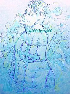 One Piece Chapter, One Piece 1, One Piece Manga, Blue Chicken, One Peace, Character Sheet, My King, Cartoon Art, Fan Art