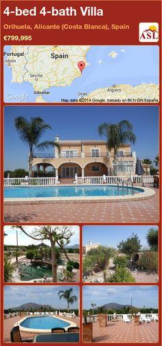 4-bed 4-bath Villa in Orihuela, Alicante (Costa Blanca), Spain ►€799,995 #PropertyForSaleInSpain