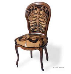 Anatomically Correct Chairs by Sam Edkins
