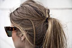 Classic ponytail