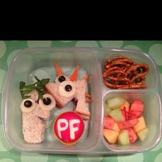 Phineas and Ferb #bento