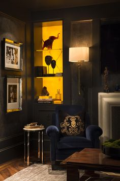 Cigar Room designed by Michael Habachy for the Atlanta Symphony's Decorator's…