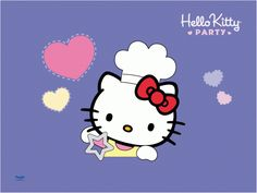 Hello Kitty Party: Hello Kitty is a chef
