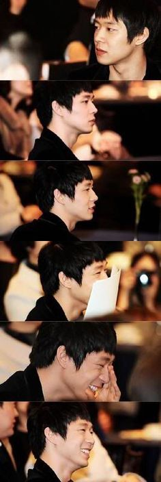 Only when you are happy, I am too ❤️ Yoochun Housed @ JYJ Hearts