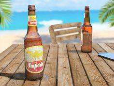 Beer on the beach, Mischa Annen Beer Bottle, Drinks, Beach, Artwork, Cgi, Photoshop, Empire, Art Work, Beverages