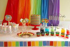 rainbow birthday party   Rainbow Birthday Party