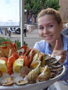 Me and my small seafood plateau