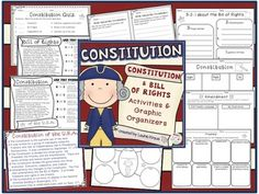 Constitution - Activities to teach U.S. History and Celebr
