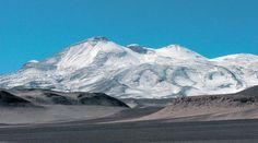 Nevado Ojos del Salado  6893 mts. Altitude.   CHILE