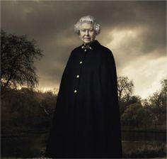 The Queen. Annie Liebovitz