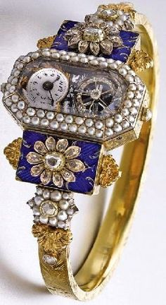Time. cool Antique jewelry watches 1830. Not exactly a Timex....
