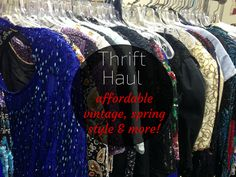 New Video: Thrift Store Haul {Vintage Warehouse and Salvation Army Finds}