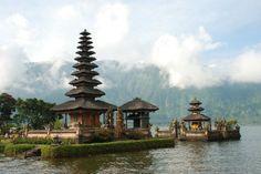 The Pura Ulun Danu Bratan Temple. Indonesia