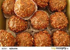 Pražské gule recept - TopRecepty.cz Christmas Sweets, Christmas Baking, Sweet Desserts, Sweet Recipes, Czech Recipes, Rainbow Food, Fancy Cakes, Sweet And Salty, Ice Cream Recipes