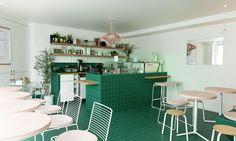 Salle Restauration Café Peonies Paris Clémentine Lévy