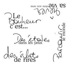 "peckinade: "" Le bonheur … """