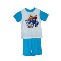 Pyjama skylanders giants court - blanc et bleu