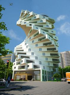unusual buildings unique & unusual buildings _ unusual buildings architecture _ unusual buildings unique _ unusual buildings weird _ unusual buildings around the worlds Creative Architecture, Futuristic Architecture, Beautiful Architecture, Art And Architecture, Movement Architecture, Unusual Buildings, Interesting Buildings, Amazing Buildings, Spiral Stairs Design