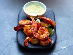 Découvrez la recette Gambas à la plancha sur cuisineactuelle.fr.
