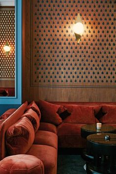 See more images from color theory: a striking scene at hotel bachaumont on domino.com
