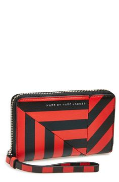 MARC BY MARC JACOBS 'Turn Around Stripe - Wingman' Phone Wallet | Nordstrom.....love!!!