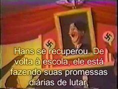 """O desenho Proibido da Walt Disney - """"As Crianças de Hitler"""""""