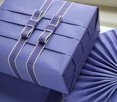 pretty wrapping technique- picture inspiration More