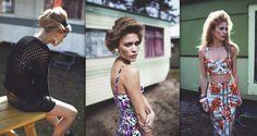 we <3 the old skool mix here,a bit of Loren & Bardot…(via fashiongonerouge)