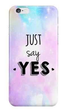 Our Zoe's Just Say YES Phone Case is available online now for just £5.99.    Fan of British YouTuber Zoe? You'll love our Just Say Yes phone case    Material: Plastic, Production Method: Printed, Authenticity: Unofficial, Weight: 28g, Thickness: 12mm, Colour Sides: Clear, Compatible With: iPhone 4/4s | iPhone 5/5s/SE | iPhone 5c | iPhone 6/6s | iPhone 7 | iPod 4th/5th Generation | Galaxy S4 | Galaxy S5 | Galaxy S6 | Galaxy S6 Edge | Galaxy S7 | Galaxy S7 Edge | Galaxy S8 | Galaxy S8…