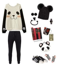 """Panda Beanie ♧"" by purplecc88criss ❤ liked on Polyvore featuring MANGO, Miss Honey, Forever 21, Eugenia Kim, Marimekko, adidas Originals, Nicopanda, Thomas Sabo and Madewell"