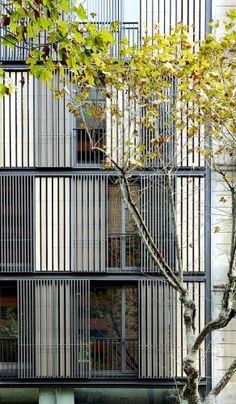Bach Arquitectes, shading design options
