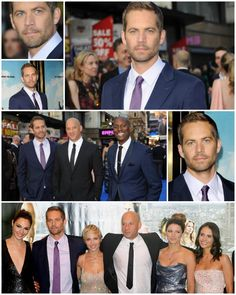Paul Walker and the Fast & Furious 6 cast at the London world premiere.