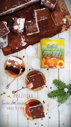 Angel's food: Prajitura ''Feerie de Craciun'' Sweet Recipes, Desserts, Christmas, Magic, Sun, Food, Natal, Postres, Xmas