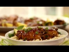 Chicken Recipes – How to Make Oven Roasted Teriyaki Chicken – Viva Recipes