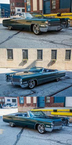 1966 Cadillac DeVille Convertible custom [bagged restomod] Custom Cars For Sale, Custom Bags, Air Ride, Cadillac, Convertible, Infinity Dress, Aviation