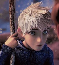 Okay call me weird, i know he's an animation but seriously...I'm gonna marry this cartoon...Rise of The Guardians | Jack Frost