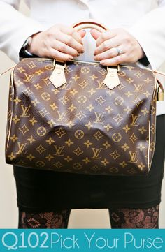 Louis Vuitton - Speedy Monogram. Go to wkrq.com to find out how to play Q102's Pick Your Purse!