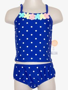 Navy 12M Carters Baby Girls Floral Tankini Swimsuit Set