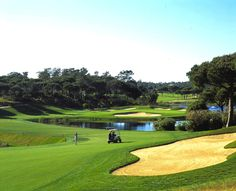 Golf Course San Lorenzo in Algarve, Portugal - From Golf Escapes Algarve, Faro Portugal, Golf Hotel, Pine Trees Forest, Green Apartment, Golf Holidays, Atlantic Ocean, Golf Courses, Nature