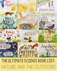 The Ultimate Science Book List: Nature and the Outdoors — The Science Penguin Nature Books for Kids Elementary Science Experiments, 4th Grade Science, Middle School Science, Teaching Science, Science Activities, Science Classroom, Science Notebooks, Science Books, Read Aloud Books