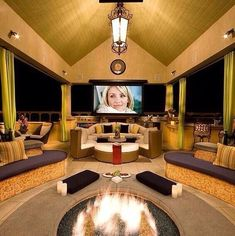 Outside Home Theater