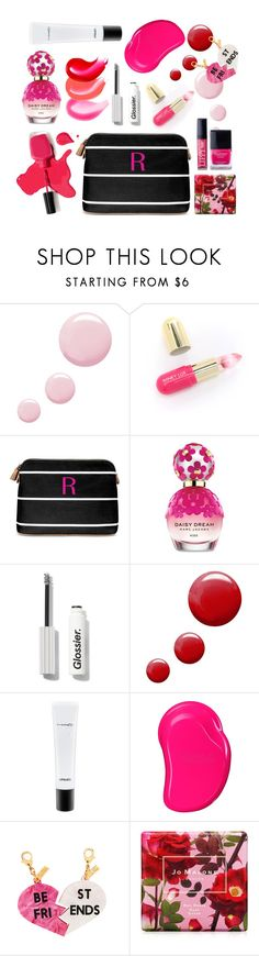 """Best friends"" by thestyleartisan ❤ liked on Polyvore featuring beauty, Topshop, Winky Lux, Cathy's Concepts, Marc Jacobs, MAC Cosmetics, Tangle Teezer, Edie Parker, Jo Malone and Butter London"