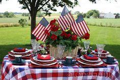 StoneGable: Memorial Day Table