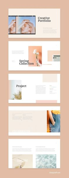 PowerPoint Template Collect Presentation TemplateCollect Presentation Template Neutral Keynote Template is a gorgeous presentation to show your project & ideas. Does your website convert visitors into clients? Powerpoint Design Inspiration, Design Powerpoint Templates, Editorial Design Inspiration, Ppt Design, Creative Powerpoint, Slide Design, Keynote Template, Layout Design, Logo Design