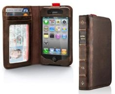 An iphone case that looks like a book :)
